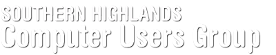 Southern Highlands Computer Users Group